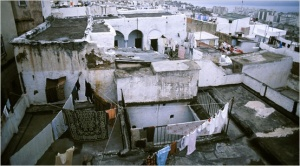 Rooftops in the Casbah.