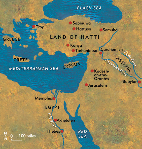 Hattusa in ancient days.