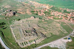 The great temple of the storm god, Teshub, once dominated the Lower City at Hattusa. Was the storm god angry? Was the storm god actually a jinni?