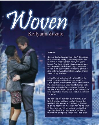 My YA story, starting on page 103 of the January issue of BTS Book Reviews.